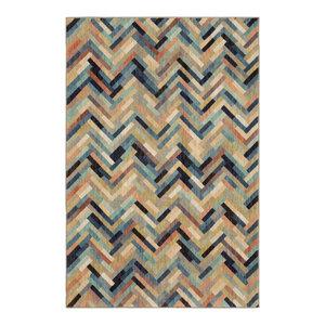 Caftan Stripe Multi Rug, 3'5