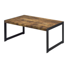 Attrayant Daniel Brown   Avis Distressed Wood Coffee Table   Coffee Tables