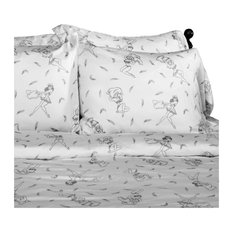Sin In Linen Pin Up Pillow Fight Duvet Cover Full Queen