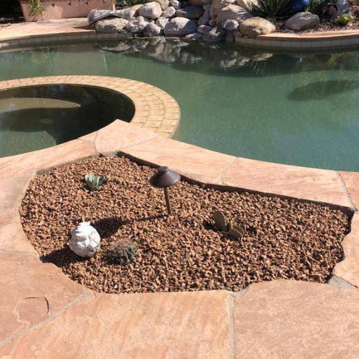 Poolside Desert Landscaping