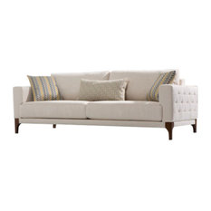 Leberta London Suare Sofa 3 Seater With Bed Beds