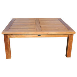 Transitional Outdoor Coffee Tables by Chic Teak