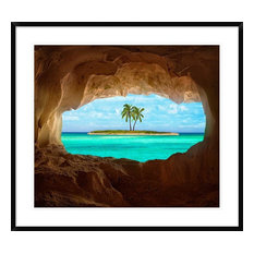 """Paradise"" Artwork, 36""x32.4"""