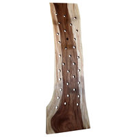 Leaning Chamcha Wine Rack, Natural