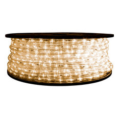 Brilliant 120 Volt LED Rope Light, 148', Warm White