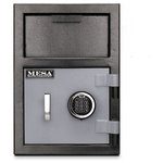 Mesa Safe - Mesa Safe Depository Safe Single Door Electronic Lock - Mesa MFL Series Depository Safes are designed for protection against robbery as well as internal theft, allowing quick deposits and secure storage for cash and miscellaneous valuables without actual access inside the money safe. They also protect money collections where immediate deposits are required. A depository safe is a necessity in every cash handling business.