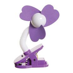 Clip-On Fan, Purple