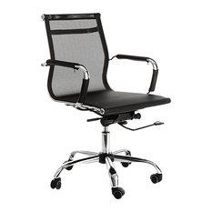 Web Net Black Office Chair
