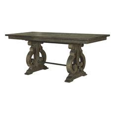 Magnussen Bellamy Rectangular Counter Table, Deep Weathered Pine