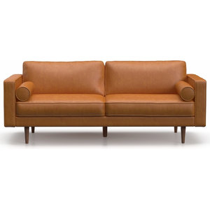 Super Aeon Furniture Zander Sofa In Caramel Finish Aeth63 0 Gmtry Best Dining Table And Chair Ideas Images Gmtryco