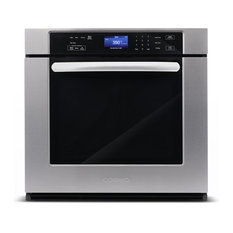 "30"" Single Electric Wall Oven With True European Convection and Self-Cleaning"