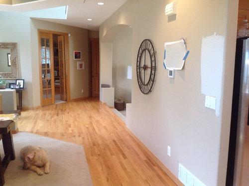 White Oak Hardwood Floors Natural Wall Colors