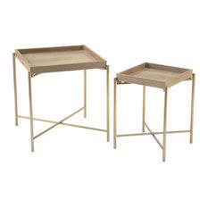 Modern Side Tables Set Of 2