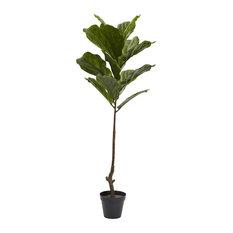 4' Fiddle Leaf Tree UV Resistant, Indoor/Outdoor