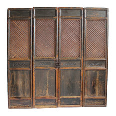 Consigned Antique Chinese Screen Doors