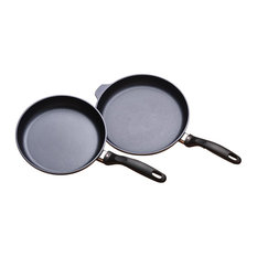 Swiss Diamond 2-Piece Set, Fry Pan Duo, 9.5 And 11""