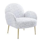 Gwen Terrazzo Velvet Chair