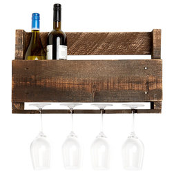 Rustic Wine Racks by Del Hutson Designs