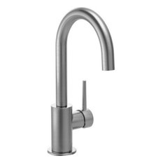 Delta Trinsic Single Handle Bar Faucet, Arctic Stainless, 1959LF-AR