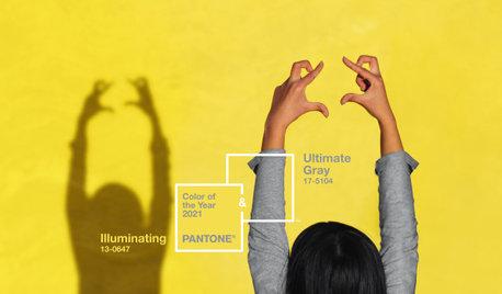 Tendances couleurs 2021 : Pourquoi associer le gris et jaune ?