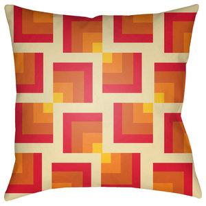 "Surya Moderne 18""x18"" Medium Square Throw Pillow"