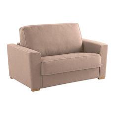 Wales Armchair Sofa Bed, Beige