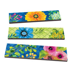 Vibrant Beauty Art Planks S/3 Asst