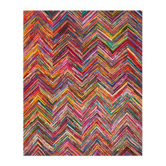 Safavieh Lana Textured Rug, Multicolored and Pink, 8'x10'
