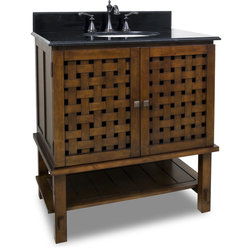 New Transitional Bathroom Vanities And Sink Consoles by Still Waters Bath