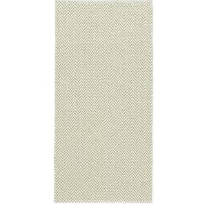 Ola Woven Vinyl Floor Cloth, Olive, 150x200 Cm