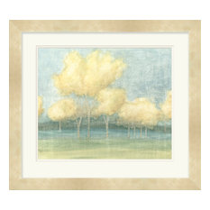Surya LJ-4100 Wall Art Solace I Pastel 34  x31   Landscape Artwork