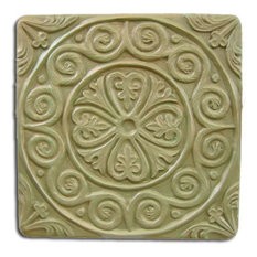Medieval Tile Stepping Stone Mold