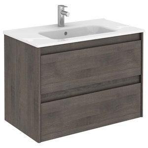 Modern Bath Vanity Concetto 5500 Elm Contemporary