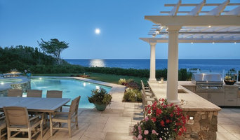 Poolside Pergola in Osterville, MA