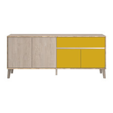 Niels 4-Door Sideboard With Drawer
