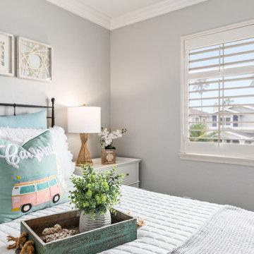 Coastal Remodel in Carlsbad - loft/guest bedroom