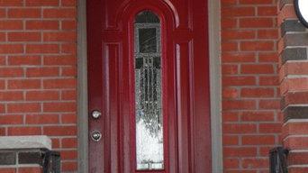 Front Porch, Door, Windos, Ceiling,