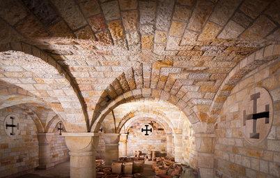 Architektur: Römisches Kreuzgewölbe für einen neuen Keller