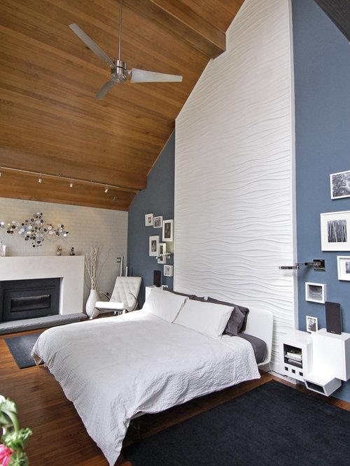 Modern Home Office Master Bedroom
