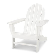 POLYWOOD Classic Adirondack Chair in White