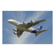 The Airbus A380 Prototype In Flight Over England, Print