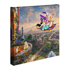 "Aladdin, Gallery Wrapped Canvas, 14""x14"""