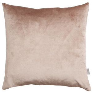 A.U. Maison Dusty Rose Velvet Silk Cushion Cover, 70x70 cm