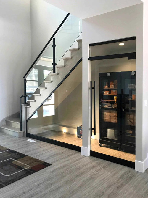 Elegant Interior Glass Railing Systems