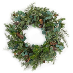 Rustic Wreaths And Garlands by Melrose International LLC