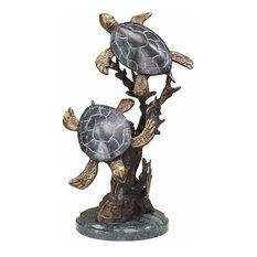 Sea Turtle Duet Small Sculpture