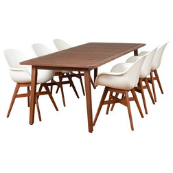 Midcentury Outdoor Dining Sets by Homesquare