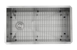 """Nantucket Sinks 32"""" Pro Series Rectangle Undermount Stainless Steel Kitchen Sink"""