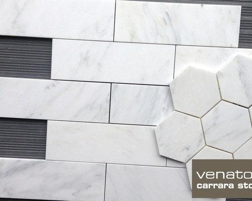 Brand-new Carrara Venato Marble Tile EO59