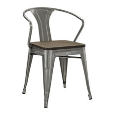 Industrial Dining Room Chairs Houzz